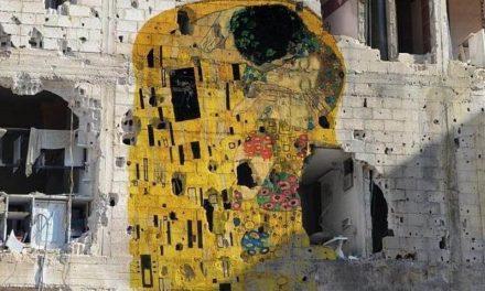 El arte crece en las ruinas de Siria