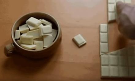 El chocolate que nunca acaba