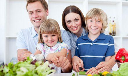 Tips para cenar juntos en familia