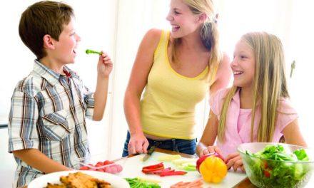 Tips positivos para cocinar con los niños