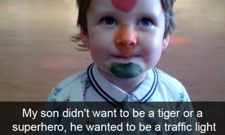 5 fotos de niños que te harán reir