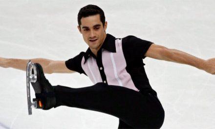 Hermoso ejercicio de Javier Fernández cinco veces campeón de Europa en patinaje artístico