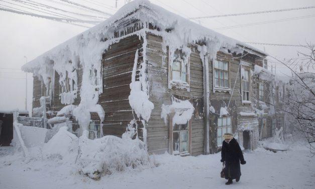 El pueblo más frío del planeta llega a -71.2 grados