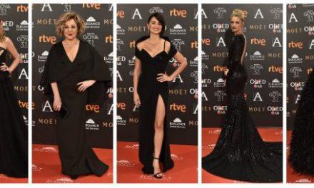 El glamour de los Premios Goya en la alfombra roja