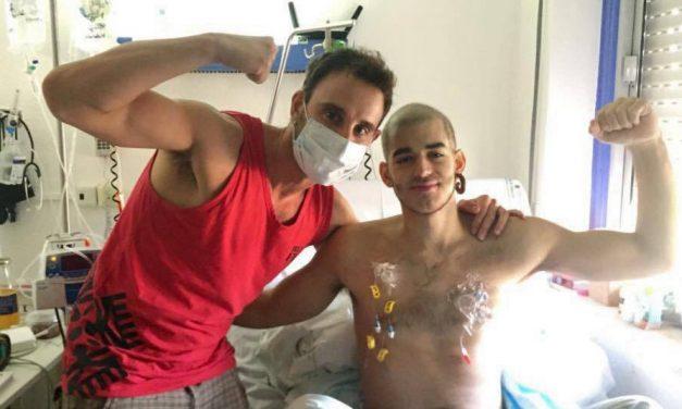 Adiós y gracias. Muere Pablo Ráez el joven símbolo de la lucha contra la leucemia