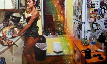 La pintura de Natalia Fabia es tan real como la vida misma