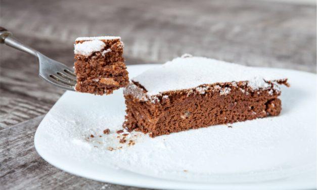 Estupendo bizcocho vegano de chocolate