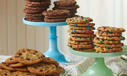 Cookies de chocolate para acompañar con el café