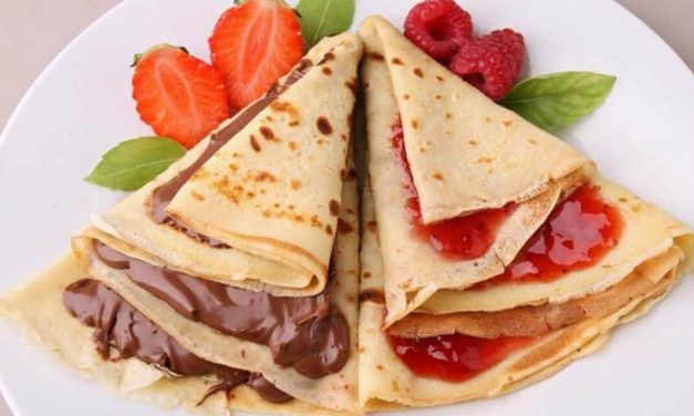Antojos de crepes con chocolate