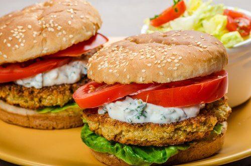 Hamburguesa ecológica para seguir con tu dieta