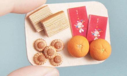 Realismo puro de alimentos en miniatura