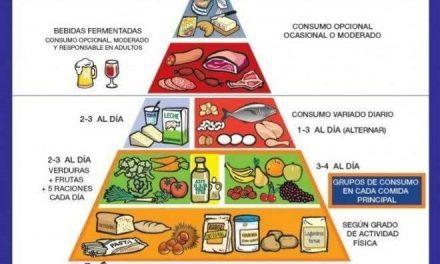 Sigue las recomendaciones de la nueva pirámide alimentaria