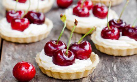 Prepara unas exquisitas tartaletas de cereza