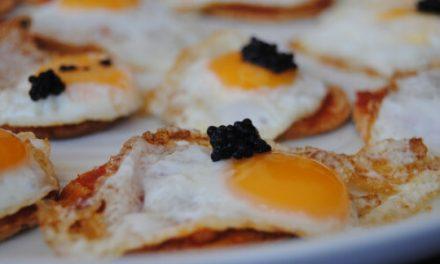 Prueba la tapa de ventresca sobre tosta de tabernero