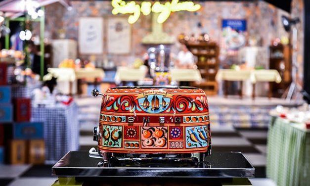 Dolce & Gabbana se apunta al diseño de pequeños electrodomésticos