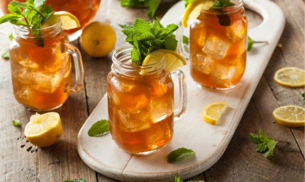 Prueba la limonada de té verde