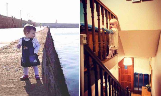 Sube fotos a Instagram de su hija en peligro