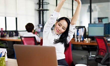 Aprende a relajarte en la oficina