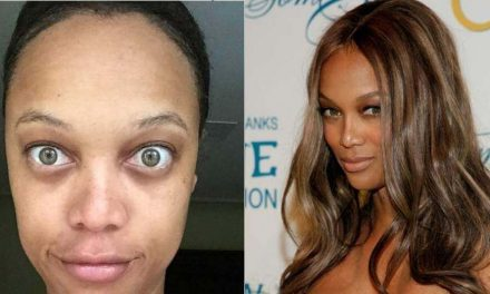 El maquillaje nos transforma a todas hasta a las famosas