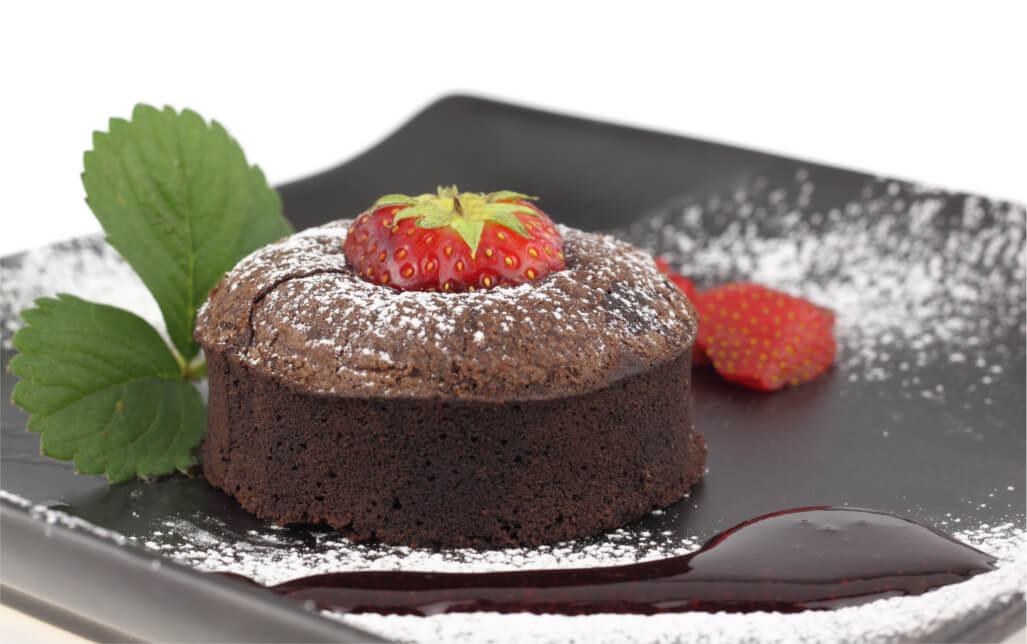 Aprende a hacer un soufflé de chocolate