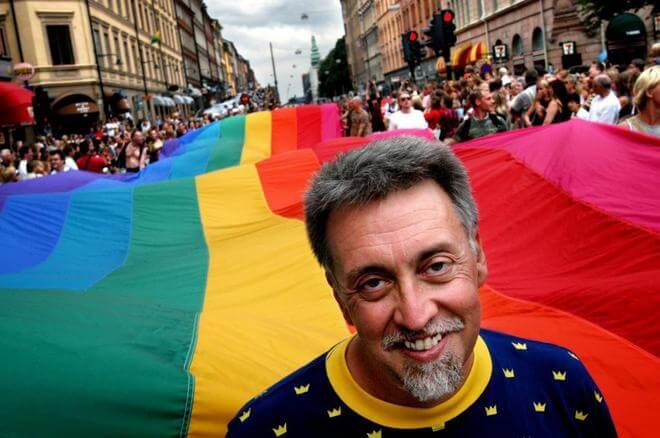 Gilbert Baker, artista y creador de la bandera gay