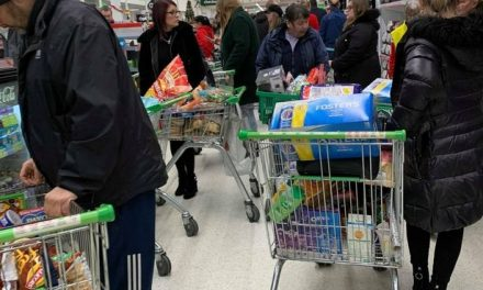 Tears in Tesco as last-minute Christmas food shop chaos sweeps UK supermarkets