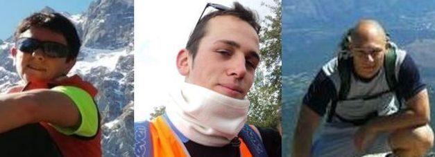 Tre morti sul Gran Sasso, due scalatori precipitati. Recuperato corpo escursionista dispersa