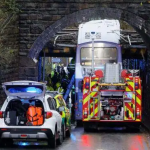 Academic mum, 36, killed after double decker roof 'sliced off' in terrifying crash with bridge