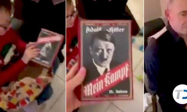 Pide el videojuego Minecraft por Navidad y su abuelo le regala por error 'Mein Kampf' de Hitler