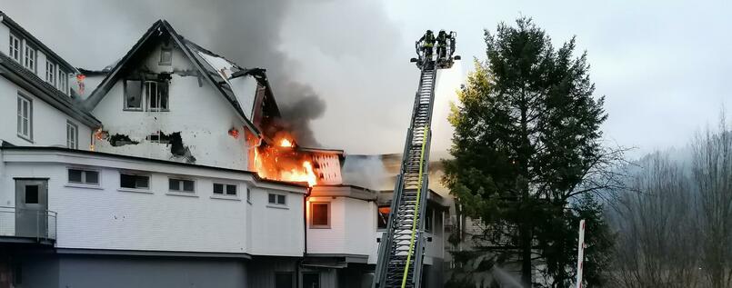 Eins der besten Lokale Deutschlands im Feuer zerstört