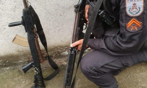 Quatro suspeitos ficam feridos durante operações na Baixada e no Centro