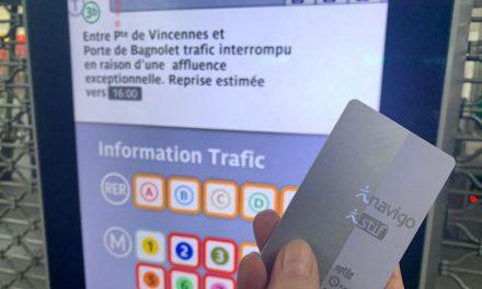 Grève : le passe Navigo du mois de décembre sera totalement remboursé